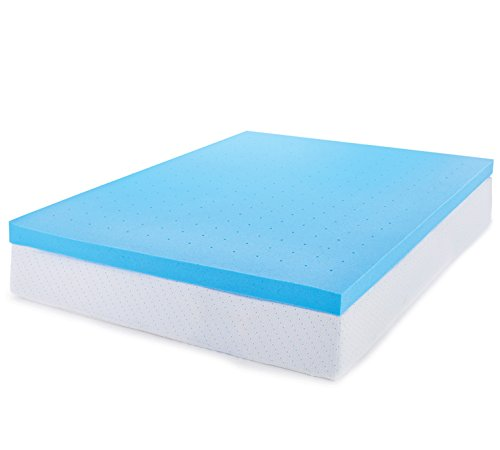 ViscoSoft 3 Inch Ventilated Gel Infused Memory Foam